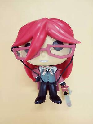 FUNKO POP BLACK BUTLER GRELL Hot Topic #18 Vinyl Figure Collectibles loose OOB