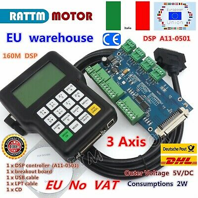 【IT+EU】 DSP Controller 3 Axis Handle Remote Control 0501 For CNC Router Engraver