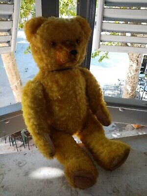 riaa3047d teddy bear antique ours steiff hermann antico orso
