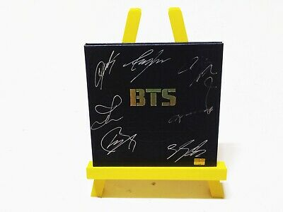 KPOP BTS Authentic Signed Album 2Cool 4Skool (1st Single) with COA & Photo Card