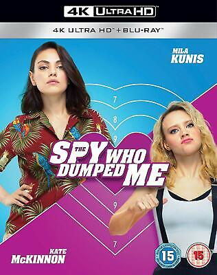 The Spy Who Dumped Me 4K+ blu ray [Blu-ray] [2018] excellent condition uk releas