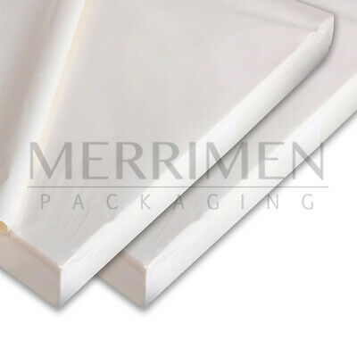 100 SHEETS OF WHITE COLOURED ACID FREE WRAPPING TISSUE PAPER 450x700mm 17GSM