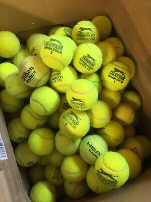 30 Used Tennis Balls - Fabulous Condition. Very Clean.