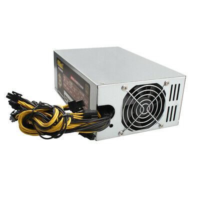 1800W 1950FC Mining Machine Power Supply For Eth Bitcoin Miner Antminer T9+ L3+
