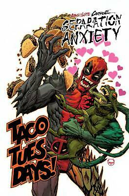 (2019) ABSOLUTE CARNAGE SEPARATION ANXIETY #1 1:25 Johnson Codex Variant Cover!