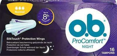 OB ProComfort Tampons - Night Normal 16 Stuks