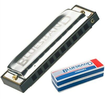 Hohner Blues Harmonica Blues Band Stainless Steel Music Instruments Education