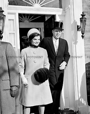JFK Photo Picture JOHN F KENNEDY JACKIE President Inauguration Print 8x10