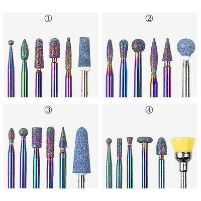 Quality Electric Nail Sanding Drill Bit For Beauty Professional Art Nails 6 pcs