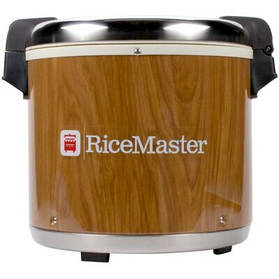 Town RiceMaster 56918 Woodgrain Electric Rice Warmer 23 Qt. NEW!