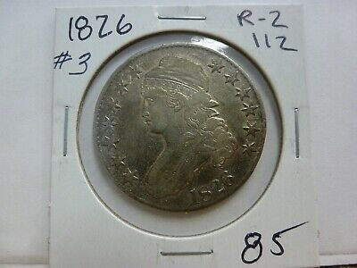 1826 Capped Bust Silver Half Dollar #3