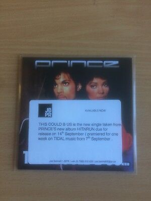 "Prince ""This Could Be Us' Uk Cd Promo And Press Sticker"