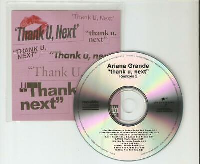 Ariana Grande - Thank U, Next' - Remixes Part Two Rare 10 Remix Cd Promo