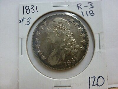 1831 Capped Bust Silver Half Dollar #3