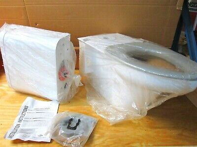 Bestcare WH2145_12 1.2 to 1.6 GPF White Two Piece Rough-In Elongated Tank Toilet