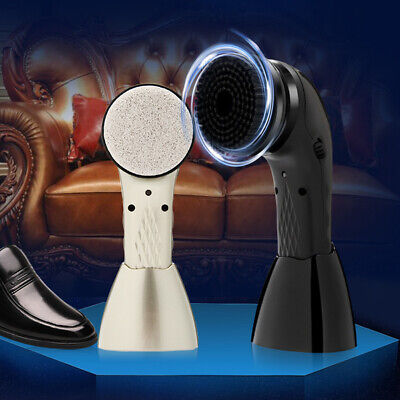 Handheld Lightweight Portable Automatic USB Rechargeable Electric Shoe Brush