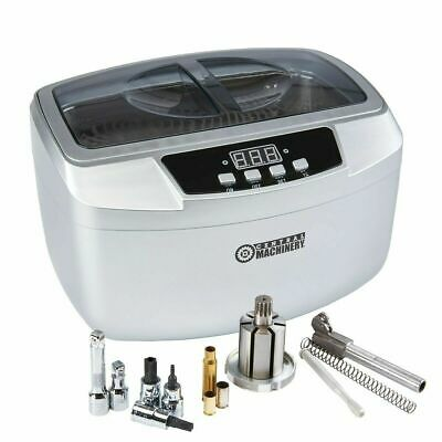 2.5 Liter Ultrasonic Cleaner High Power Five Preset Cycles With Digital Timer