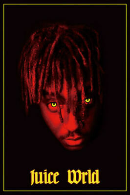 Juice WRLD New Hip Hop Rap Music Star Poster 24x36 30in K380