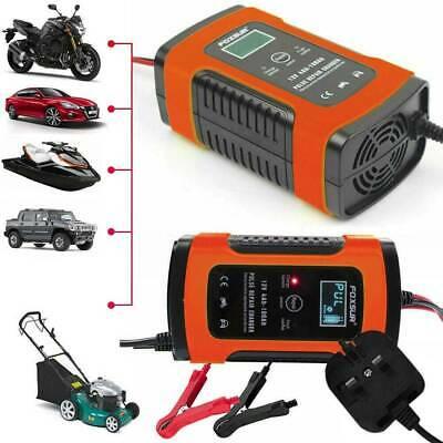 12V 6A 3 stages AUTOMOTIVE CAR BIKE Motorcycle SMART INTELLIGENT BATTERY CHARGER
