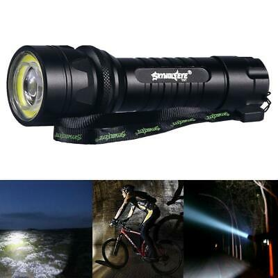 60000LM Zoomable  X-XML T6 +COB LED Flashlight Torch For Hiking Cycling