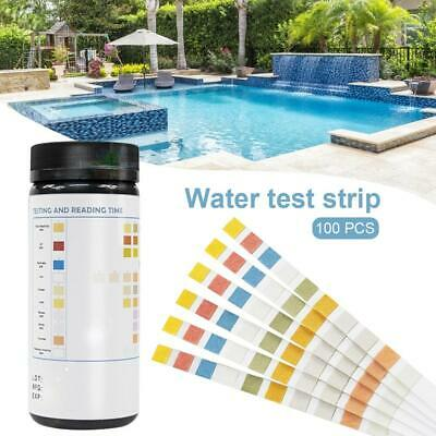 Swimming Pool Test Strips Water Hardness Testing Tool Set Chlorine PH Kit