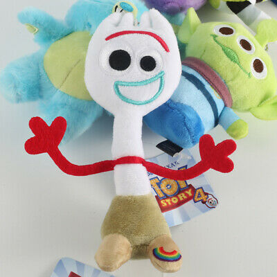 Forky Plush From Toy Story 4 15cm 20cm 30cm Toy Stuffed Soft Doll Kids OFFICAL