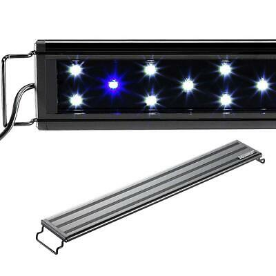 "Aquaneat Aquarium Light 0.5W Marine FOWLR White Blue LEDs 30""-38"""