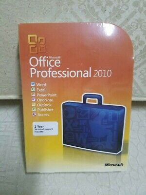 Microsoft Office Professional 2010 Retail FULL VERSION BRAND NEW+FREE SHIPPING!!