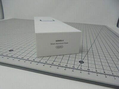 Genuine Apple Watch Empty BOX ONLY - Series 4 - 44mm - Silver - S4SC