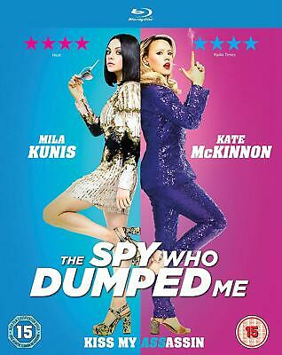 The Spy Who Dumped Me Blu-Ray (2018) Mila Kunis  excellent condition uk release