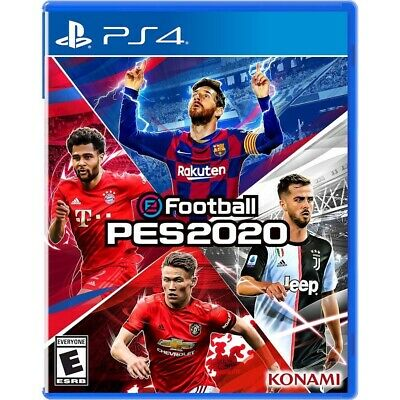eFootball PES 2020 Playstation 4 PS4 Brand New Factory Sealed