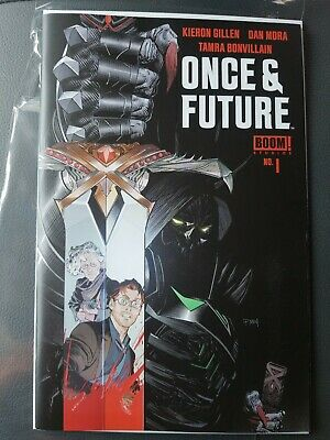 ONCE AND FUTURE #1 Boom 🔥🔥🔥First Print🔥🔥🔥Hot New Comic Book Kieron Gillen