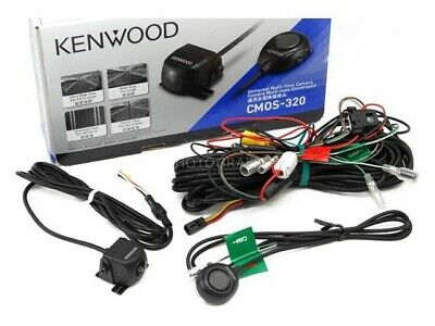 Kenwood CMOS-320 Universal Rear-View Car Backup Camera with 5 View Modes