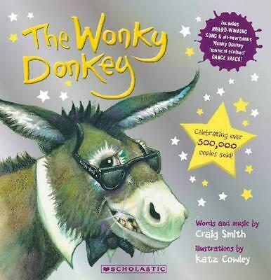 The Wonky Donkey by Craig Smith Paperback Book Free Shipping!