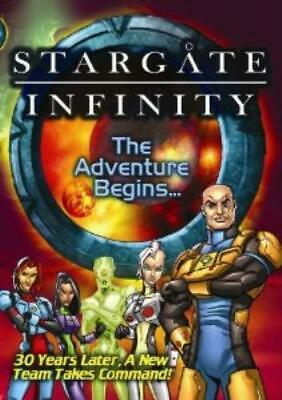 Stargate Infinity: The Adventure Begins DVD
