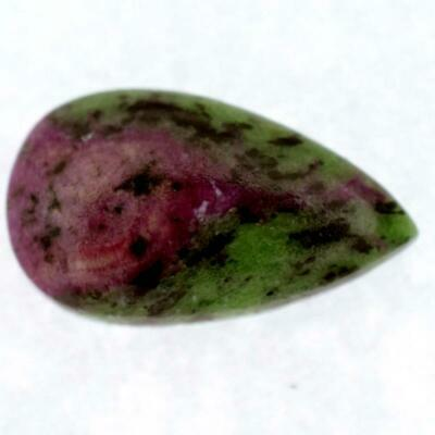 35 Ct. Natural Ruby Zoisite Pear Cabochon Gemstone  32X19X6 Mm Wgs-1285