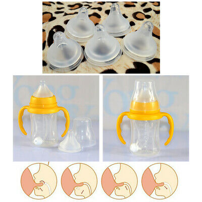 Infant Pacifier Safety Baby Soft Silicone Feeding Nipple Toddler Teat