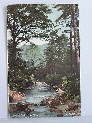Postcard - Patterdale - Grisedale Beck - Westmorland Cumbria Lake District 1905