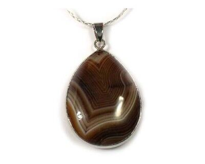 19thC Antique 80ct Agate Ancient Celtic Viking Amulet Protects Against Dragons
