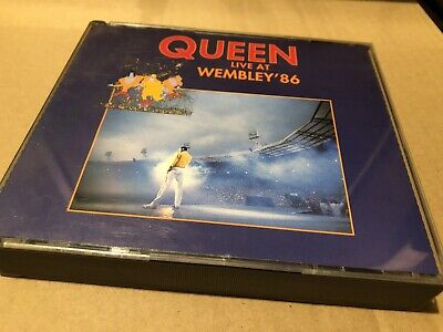 Queen Live At The Wembley 1986 Double Cd Fatcase Edition Excellent