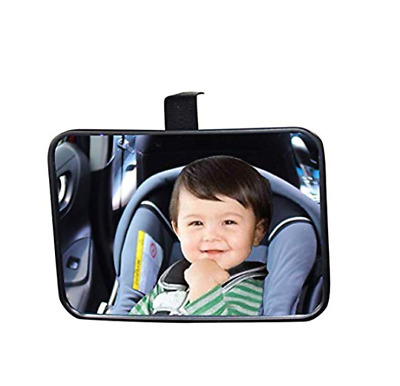 Baby Back Seat Car Mirror Rear Facing View Infant Child Shatterproof Safety New