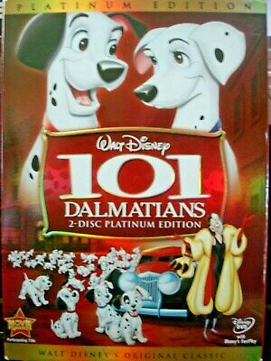 101 Dalmatians (DVD, 2008, 2-Disc Set, Platinum Edition) Disney Classic