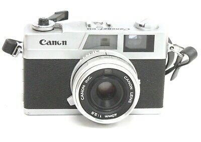 CANON CANONET 28 Rangefinder Camera With Canon 40mm f/2.8 Lens  - H29