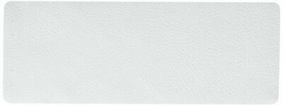 """Sizzix 660613 Leather White Cowhide Size 3"""" X 9"""""""