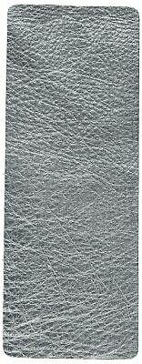 """Sizzix 660609 Leather Metallic Silver Cowhide Size 3"""" X 9"""""""
