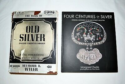 RARE Chinese Silver Reference Book PLUS Old Silver Book with Hallmarks