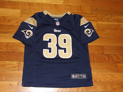 Nike St. Louis Rams Steven Jacksonfl Football Jersey Boys Large Size 7 Excellent