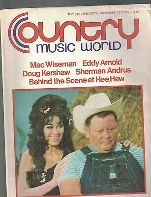 Country Music WNYR Magazine November 1973 Eddy Arnold Hee Haw