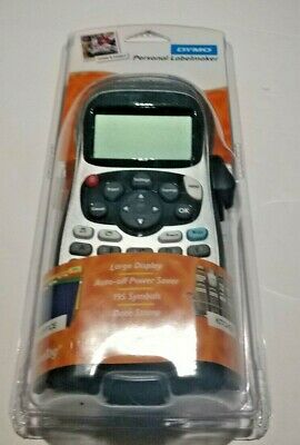 Dymo LetraTag Plus LT-100H Personal Label Maker Silver Brand New Factory Sealed