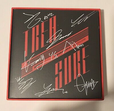 Ateez Treasure ep.2: Zero To One kpop signed album